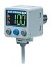 SMC Pressure Switch, R 1/4 -100kPa to +100 kPa