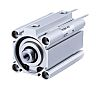 SMC Pneumatic Compact Cylinder 50mm Bore, 15mm Stroke,