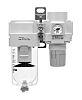 SMC AC40 Pneumatic Regulator 5μm G 1/2, 10