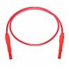 Mueller Electric Test lead, 20A, 1kV, Red, 1.5m