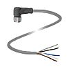 Pepperl + Fuchs M12 5-Pin Cable Assembly, 2m Cable