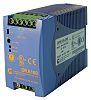 Chinfa DRA100 DIN Rail Power Supply with Internal Input Filter 90 → 264V ac Input Voltage, 24V dc Output