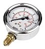 WIKA G 1/4 Bottom Entry Pressure Gauge 25bar UKAS Calibration, 9626918