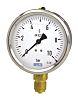 WIKA G 1/4 Bottom Entry Pressure Gauge 160bar UKAS Calibration, 9626943