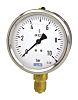 WIKA Bottom Entry Pressure Gauge 250bar UKAS Calibration, 7075643