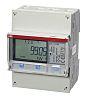 ABB Energiamérő LCD, 7-számjegyes, 3-fázisú, impulzuskimenettel, 1%-os pontossági osztály, B sorozat