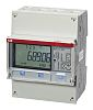 ABB B 3 Phase LCD Energy Meter with Pulse Output, Type Electromechanical