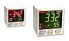 Sensor de presión manométrica Panasonic de -1bar → 10bar, G1/8, 12 → 24 V dc, salida Relé, para Gas no