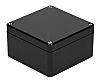 RS PRO Black Polyester Enclosure, IP66, 220 x 120 x 90mm