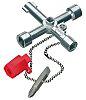 Knipex Diecast Zinc 3 way Control Cabinet Key