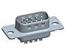 Amphenol FCI DP Series Plug-In Mount, 9 Pin