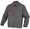 Delta Plus Grey/Orange Work Jacket, L