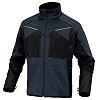 Delta Plus Navy Elastane, Polyester Work Jacket, S