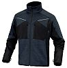 Delta Plus Navy Elastane, Polyester Work Jacket, M