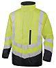 Delta Plus OPTIMUM2 Yellow Hi Vis Jacket, M