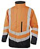 Delta Plus OPTIMUM2 Orange Hi Vis Jacket, XXXL