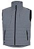 Delta Plus Grey Work Waistcoat, XXXL