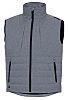 Delta Plus Grey Work Waistcoat, L