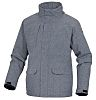 Delta Plus Grey XL Water Resistant Polyester Jacket