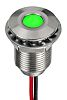 RS PRO Green EMC Panel LED, 21.6 →