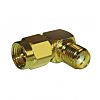 Amphenol 50Ω Straight Cable Mount SMA Connector, Female,