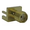 Amphenol Socapex Straight 50Ω Edge Mount SMA Connector,