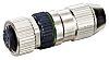 Murrelektronik IDC Circular Connector, 4 Contacts, M12 Cable