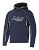 Snickers Navy Men's Hooded Cotton, Polyester Hoodie S