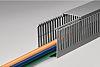 HellermannTyton Kabelkanal, Verdrahtungskanal, Kunststoff, Grau, 40 mm x 40mm, Länge 2m