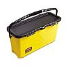 Plastic Black, Yellow Charging Bucket With Handle