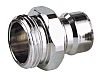 Straight Male Hose Coupling 1in Nipple to Threaded,