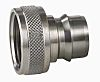 Straight Male Hose Coupling 3/4in Nipple to Threaded,