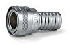 Straight Hose Coupling 1/2in Coupler to Hose Tail,
