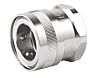 Straight Hose Coupling 1in Coupler to Threaded, 1