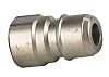 Straight Male Hose Coupling 3/8in Nipple to Threaded,