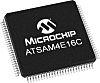 Microchip ATSAM4E16CA-AU, 32bit ARM Cortex M4 Microcontroller,