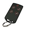 RF Solutions 4 Button Remote Key, FOBLOQF-4T4, 433.92MHz