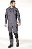 Muzelle Dulac Dynamic Fit Grey Men's Cotton, Polyester Trousers, 34 Waist