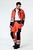 Muzelle Dulac Orange Men Hi Vis Jacket, XL