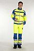 Muzelle Dulac Yellow Men Hi Vis Jacket, L