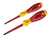 Wiha Tools VDE Pozidriv, Slotted Screwdriver Set 2