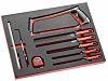 Facom 9 Piece Maintenance Tool Kit with Foam