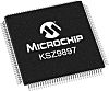 Microchip KSZ9897RTXC, 7-Port Ethernet Switch IC, 10 Mbit/s,