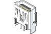 Molex, On-The-Go USB Connector, Through Hole, Socket Mini