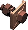 WJ Furse Copper Tape Bonding Clamp 26mm