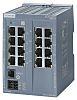 Siemens Ethernet Switch, 16 RJ45 port, 24V dc,