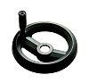 RS PRO Black Technopolymer Hand Wheel, 160mm