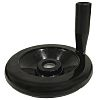 RS PRO Black Phenoplast Hand Wheel, 120mm