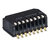 2 Way Surface Mount Piano Dip Switch SPST,