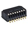 8 Way Surface Mount Piano Dip Switch SPST,